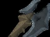 Gorgonite battleaxe