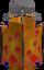 Medium lava lantern detail