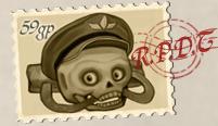 Postie pete stamp