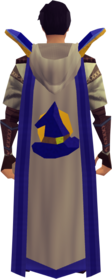 Retro hooded magic cape (t) equipped