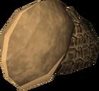 Bronze helm detail