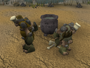 Death Plateau cooking pot