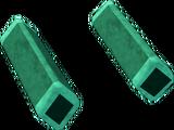 Green diamond key