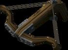 Iron crossbow detail