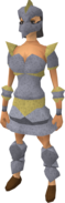 Replica Armadyl armour equipped (female)