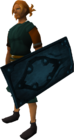 Rune sq shield equipped