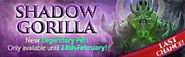 Shadow Gorilla last chance lobby banner