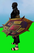Shield of Diamonds equipped