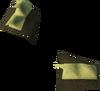 Snakeskin vambraces detail