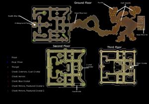 Temple of light kaart