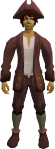 Audience costume (male, maroon) equipped