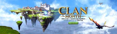 Clan Month head banner