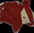 Crimson skillchompa detail