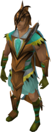 Dragon Rider armour equipped