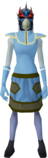 Full slayer helmet (f) (red) equipped.png