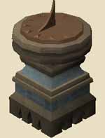 Granite sundial