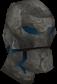 Sapphire golem head chathead