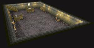 Spieler-Moderator-Raum