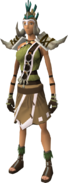 Warlord outfit equipped (female)