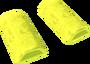 Yellow wedge key detail