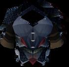Black dragonhide body detail
