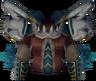Hunter's chestpiece detail