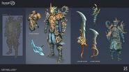 Ocean's Warrior concept art