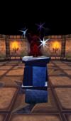 Ruby statuette plinth