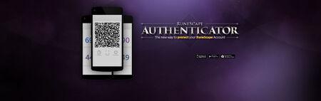 RuneScape Authenticator head banner