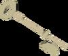 Silver key (H.A.M.) detail