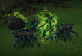 Spiders attacking a player.png