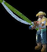 Whale's Maw islander (male, fishing rod)