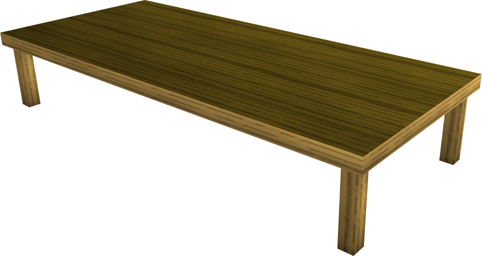 Wood Dining Table Runescape Wiki Fandom Powered By Wikia