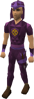 Ancient dragonhide blessed set equipped old