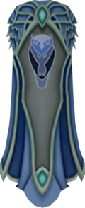 Clan Amlodd cape detail