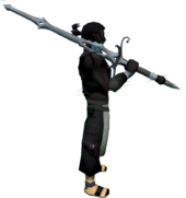 Fae Fairy 2h Sword equipped