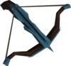 Off-hand rune crossbow detail