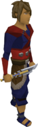 Seaborne dagger equipped