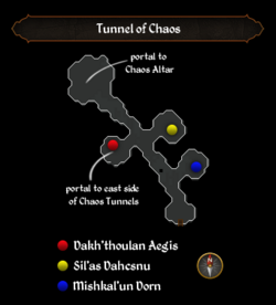 Tunnel of Chaos map