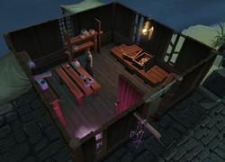 Void Knight Magic Store interior