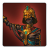 Ancient mummy outfit icon (female)