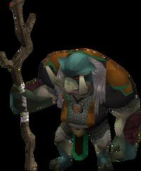 Bandosian bodyguard (Ork mage)
