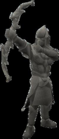 Basic ranger statue