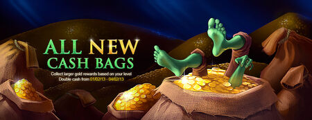 Cash Bags banner