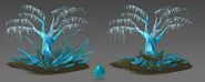 Crystal Tree concept art
