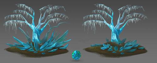 Crystal Tree concept art