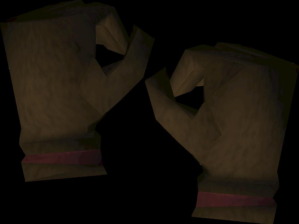 Diviner's handwear detail