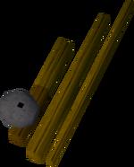 Fishing rod detail