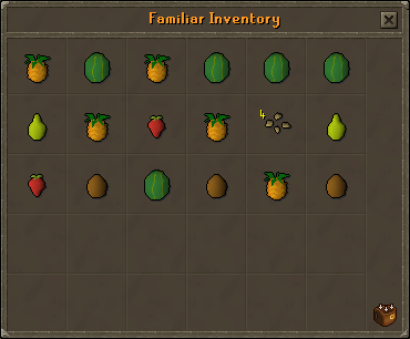 Fruit Bat inventory