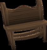 Mahogany bench built